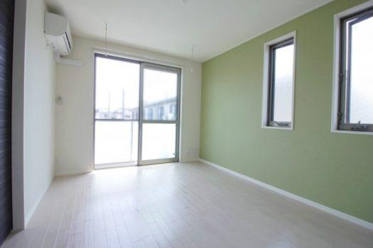 アパートの写真です