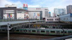 川口駅前の写真です