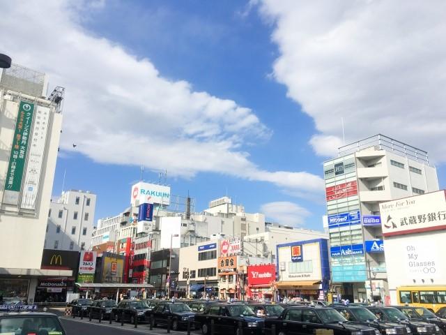 大宮駅東口周辺の様子の写真です
