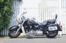 大型バイクの写真です