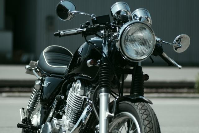 バイクの写真です