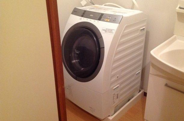 全自動洗濯機の写真です