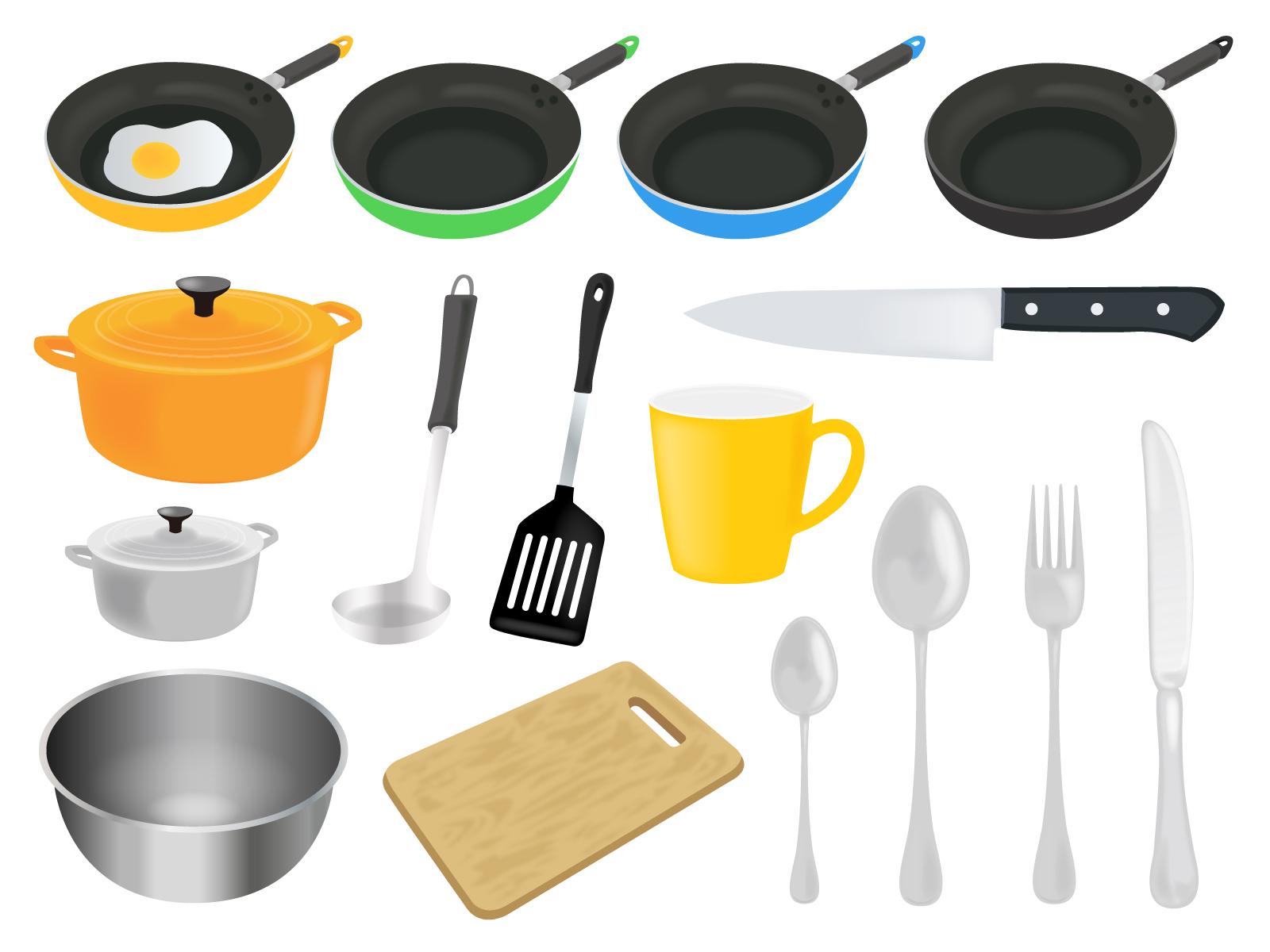 キッチン道具イラスト