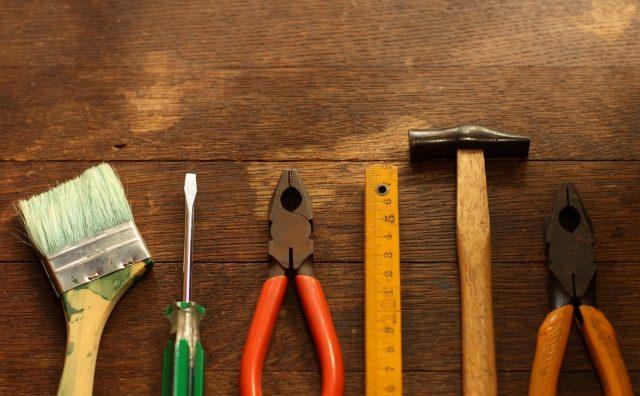 DIYのための工具