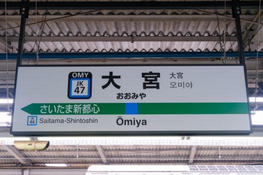 大宮駅看板