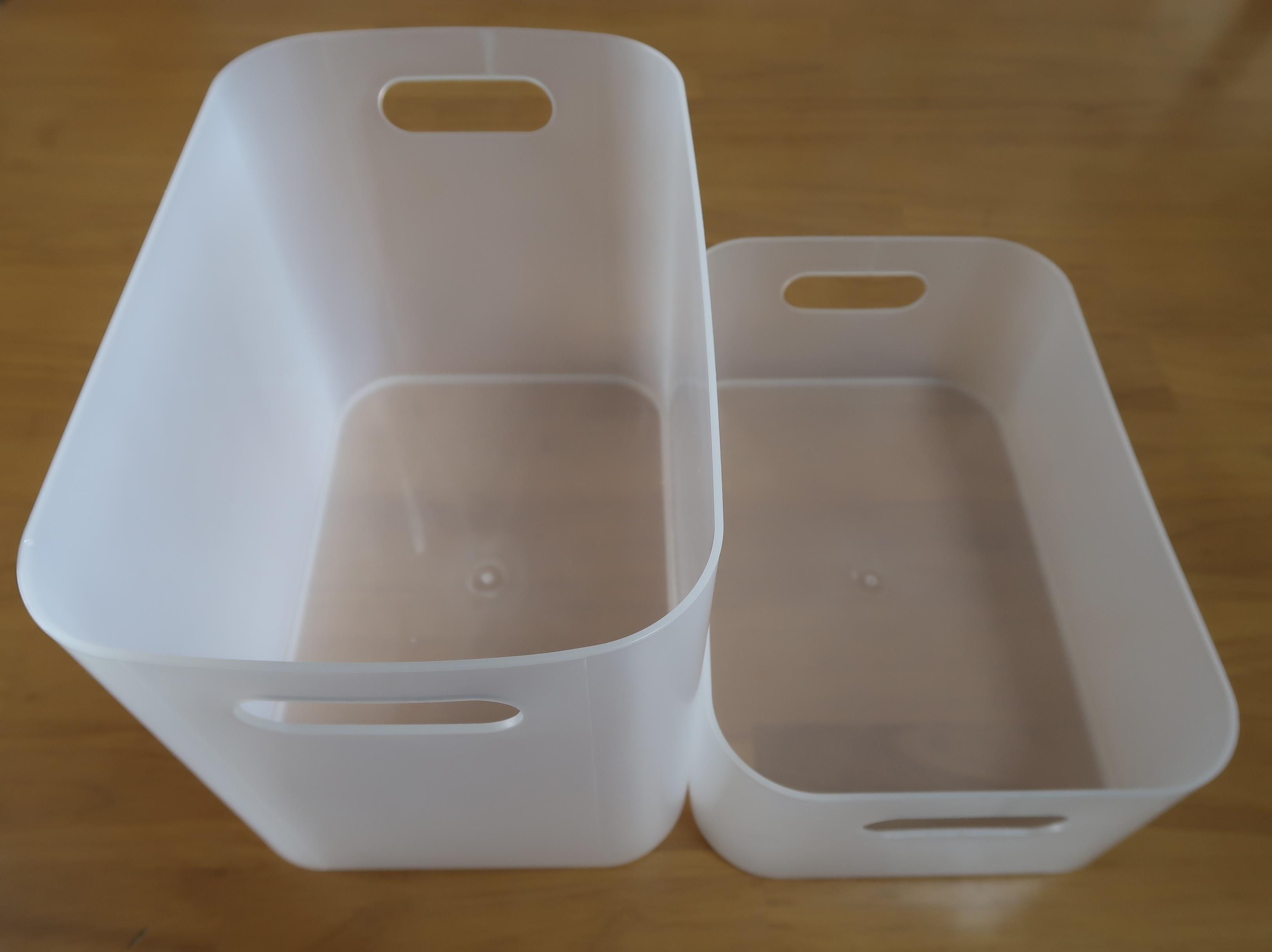 半透明のボックス