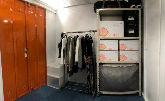 トランクルーム室内収納例
