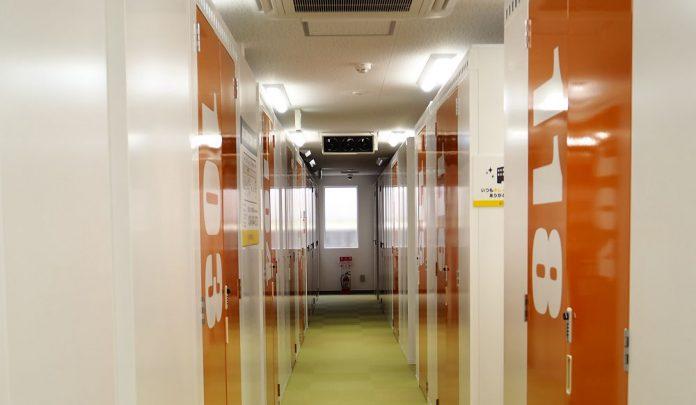 空調を完備したトランクルーム