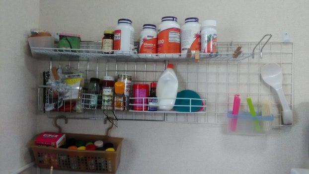 キッチン壁面収納