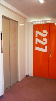 トランクルーム内エレベーター