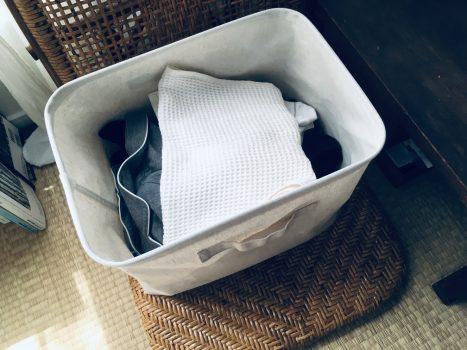洗濯物を収納
