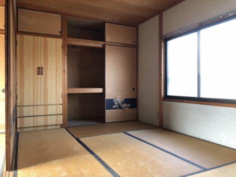空き家の部屋