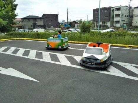 三橋総合公園バッテリーカー