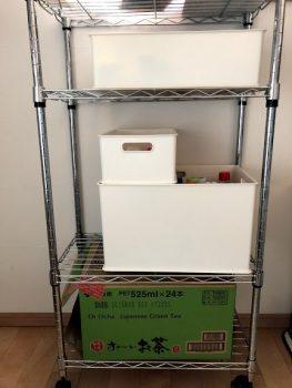 キッチンラックのインボックス