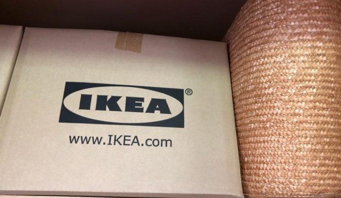 IKEAの段ボール