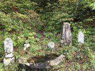 田舎の墓地