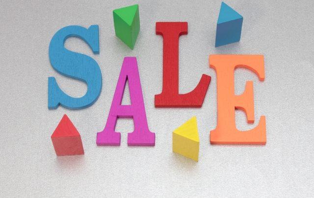 セールのイメージ