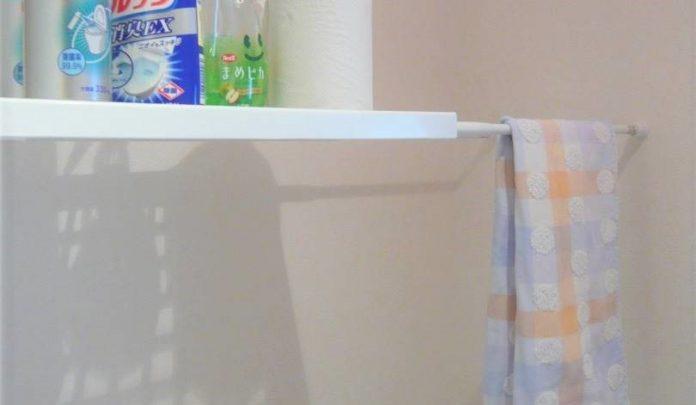 トイレの収納棚
