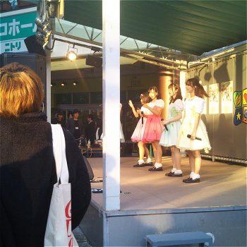 メローペ広場ステージ