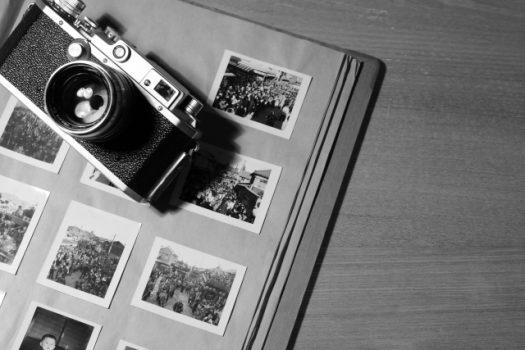 カメラとアルバム